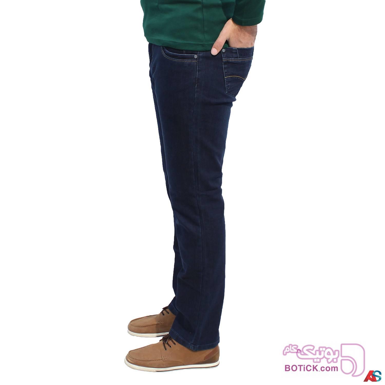 شلوار جین سایز بزرگ کد محصول LCR 2098 سفید سایز بزرگ مردانه