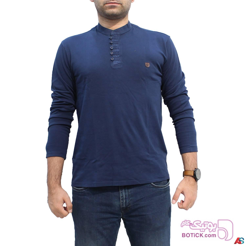 پلیور آستین بلند کد محصول b0p202 سفید سایز بزرگ مردانه