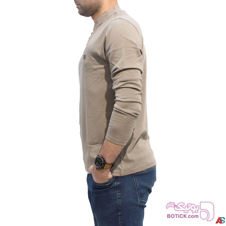 پلیور آستین بلند کد محصول b0p211 مشکی سایز بزرگ مردانه
