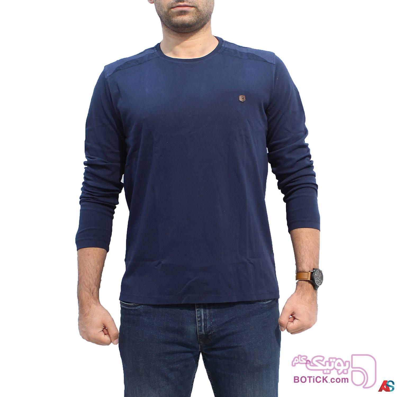 پلیور آستین بلند کد محصول b0p214 سفید سایز بزرگ مردانه
