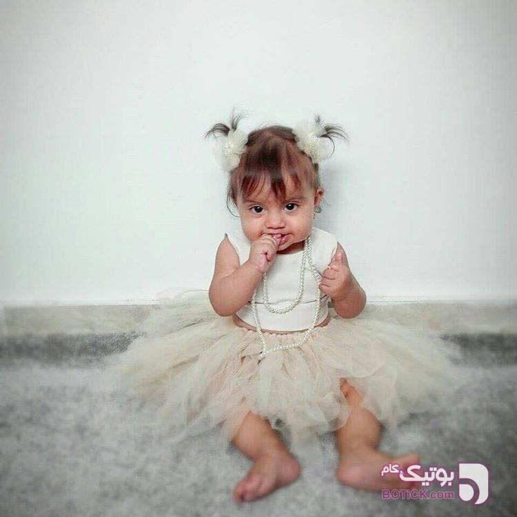 ست تولد سبز لباس کودک دخترانه