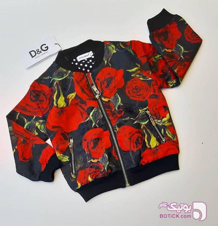 سوییشرت بارونی دخترانه قرمز لباس کودک دخترانه