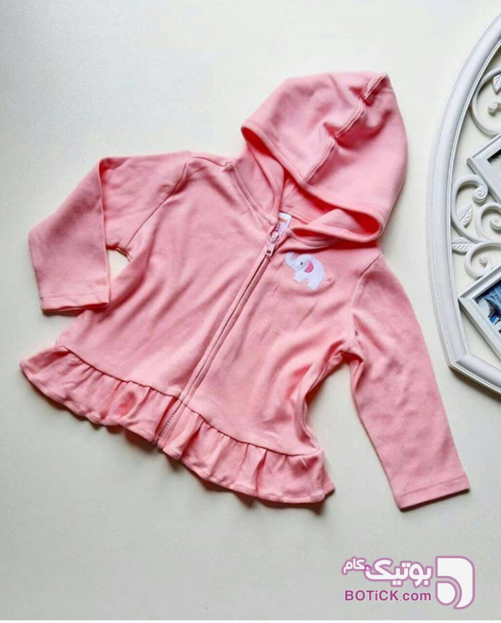 سوییشرت دخترانه صورتی لباس کودک دخترانه
