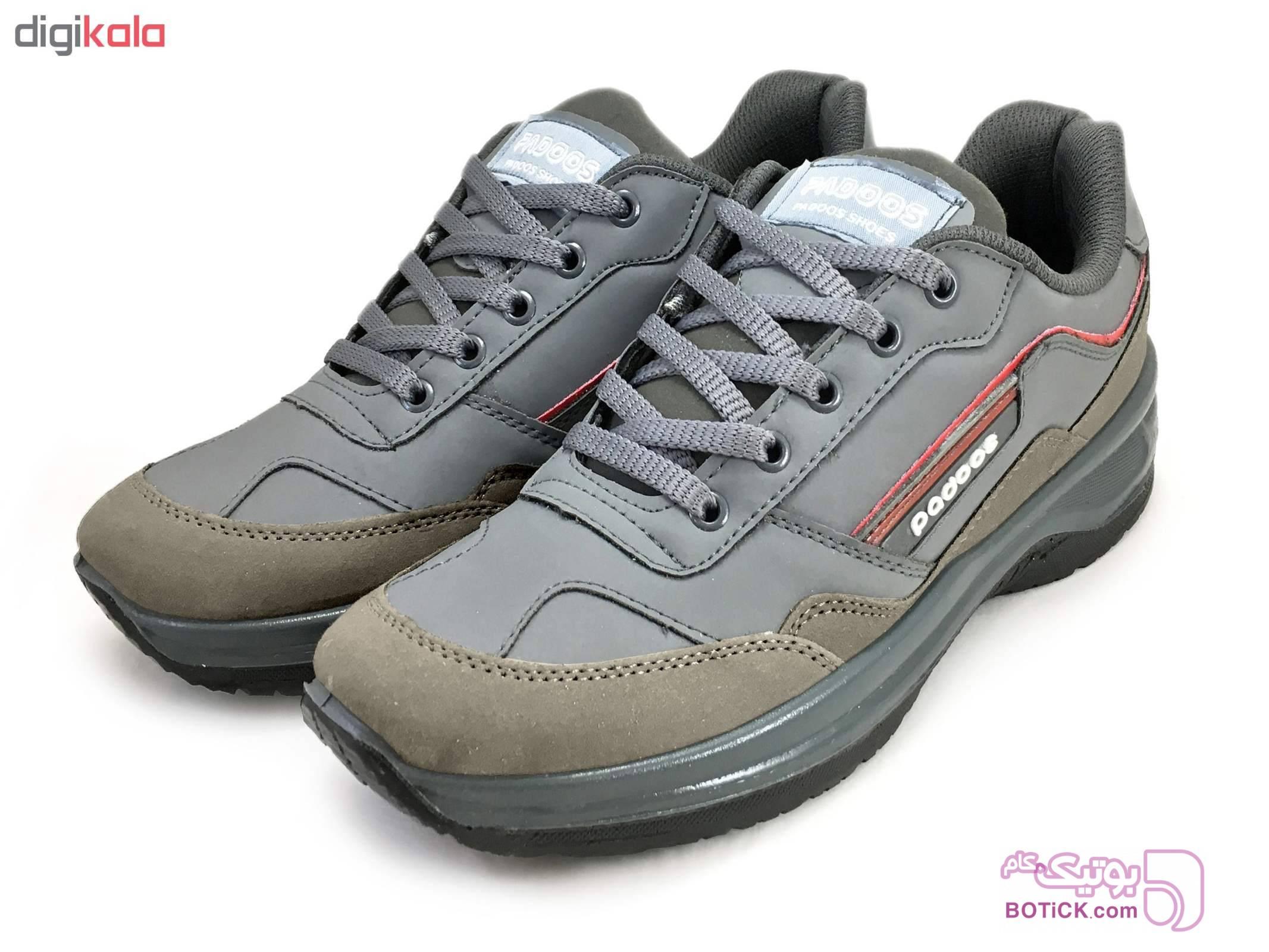 کفش مخصوص پیاده روی مردانه کد 3872 مشکی كتانی مردانه