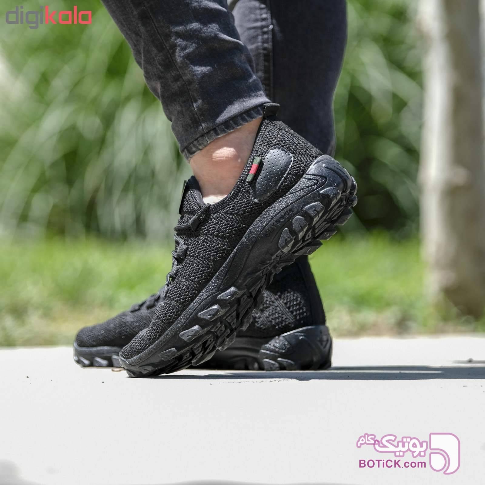 کفش مردانه مدل arshi-kohestani  مشکی كتانی مردانه