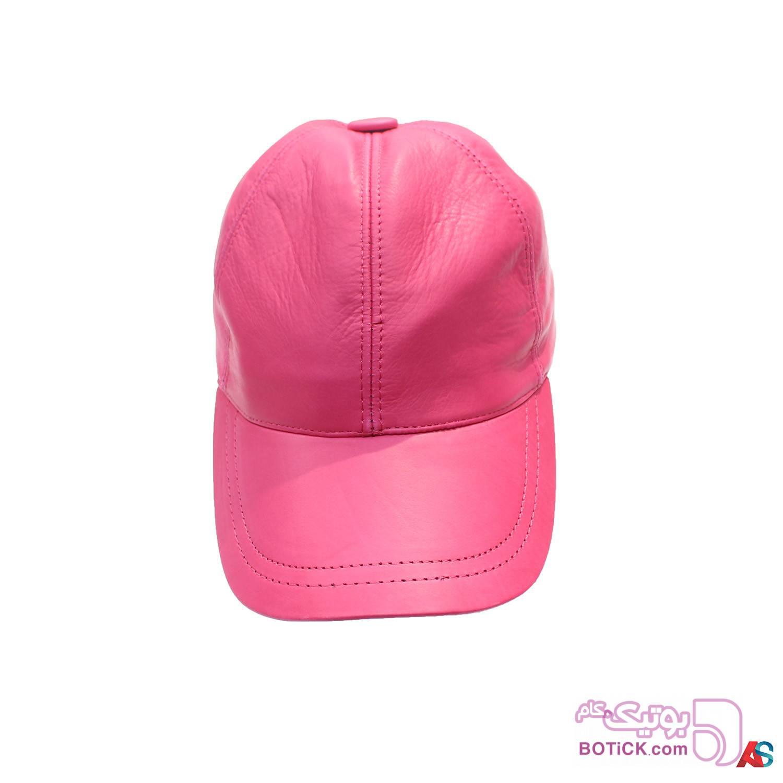 کلاه لبه دار اسپرت چرم کد محصول chk104 سفید کلاه و اسکارف
