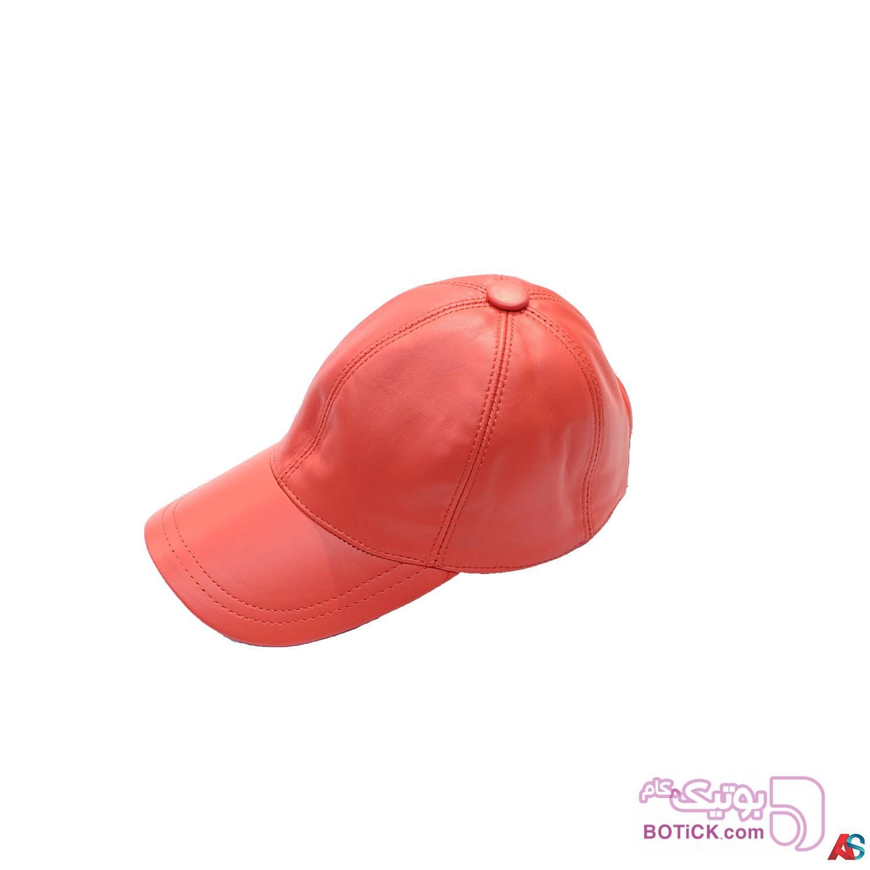 کلاه لبه دار اسپرت چرم کد محصول chk106 سفید کلاه و اسکارف