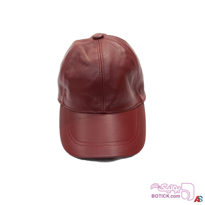 کلاه لبه دار اسپرت چرم کد محصول chk109 مشکی کلاه و اسکارف