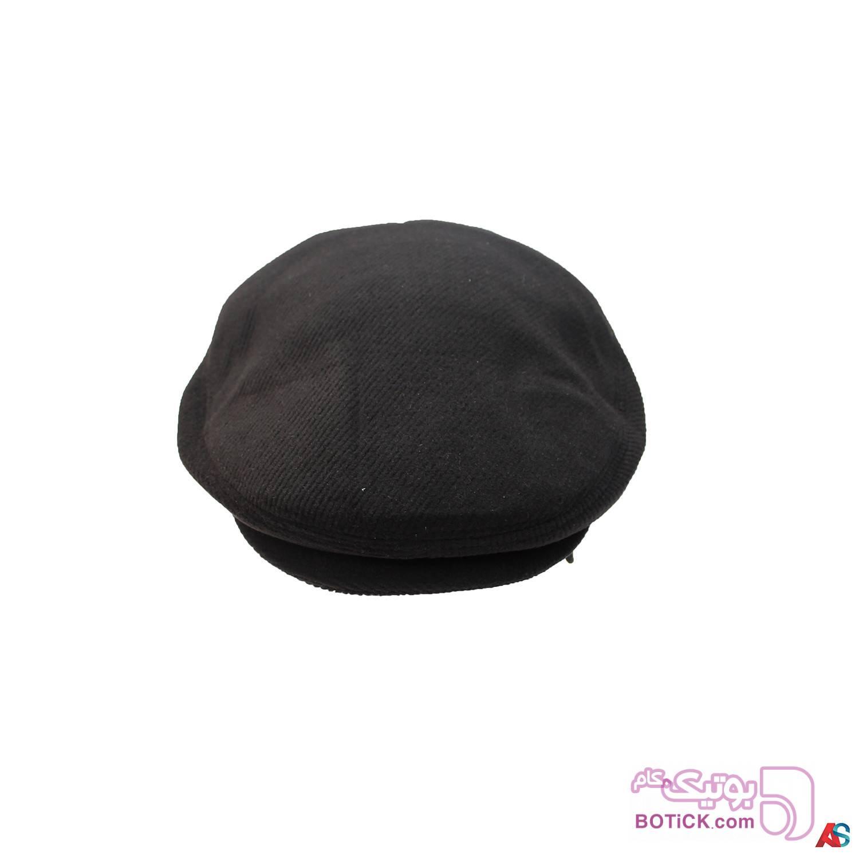 کلاه لبه دار زمستانی کد محصول Kle102 سفید کلاه و اسکارف