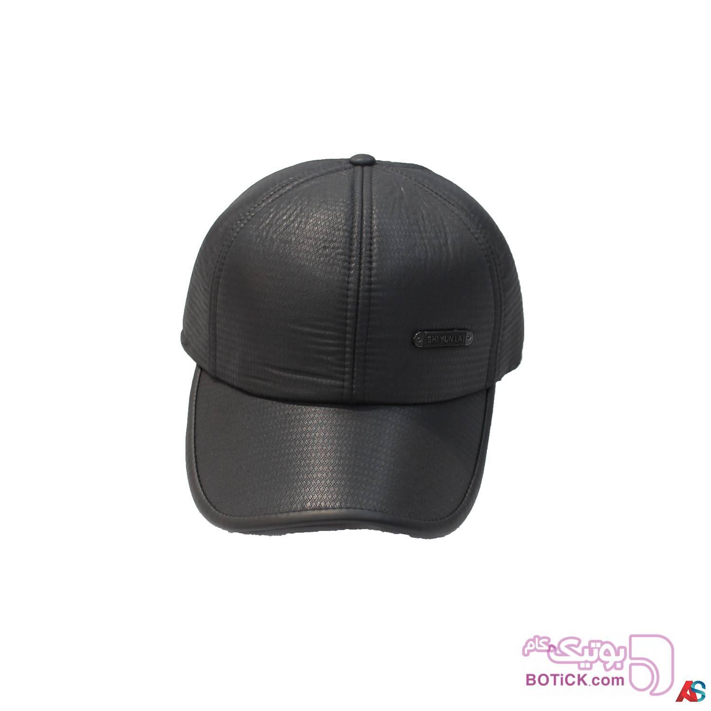 کلاه لبه دار زمستانی کد محصول Kle106 سفید کلاه و اسکارف