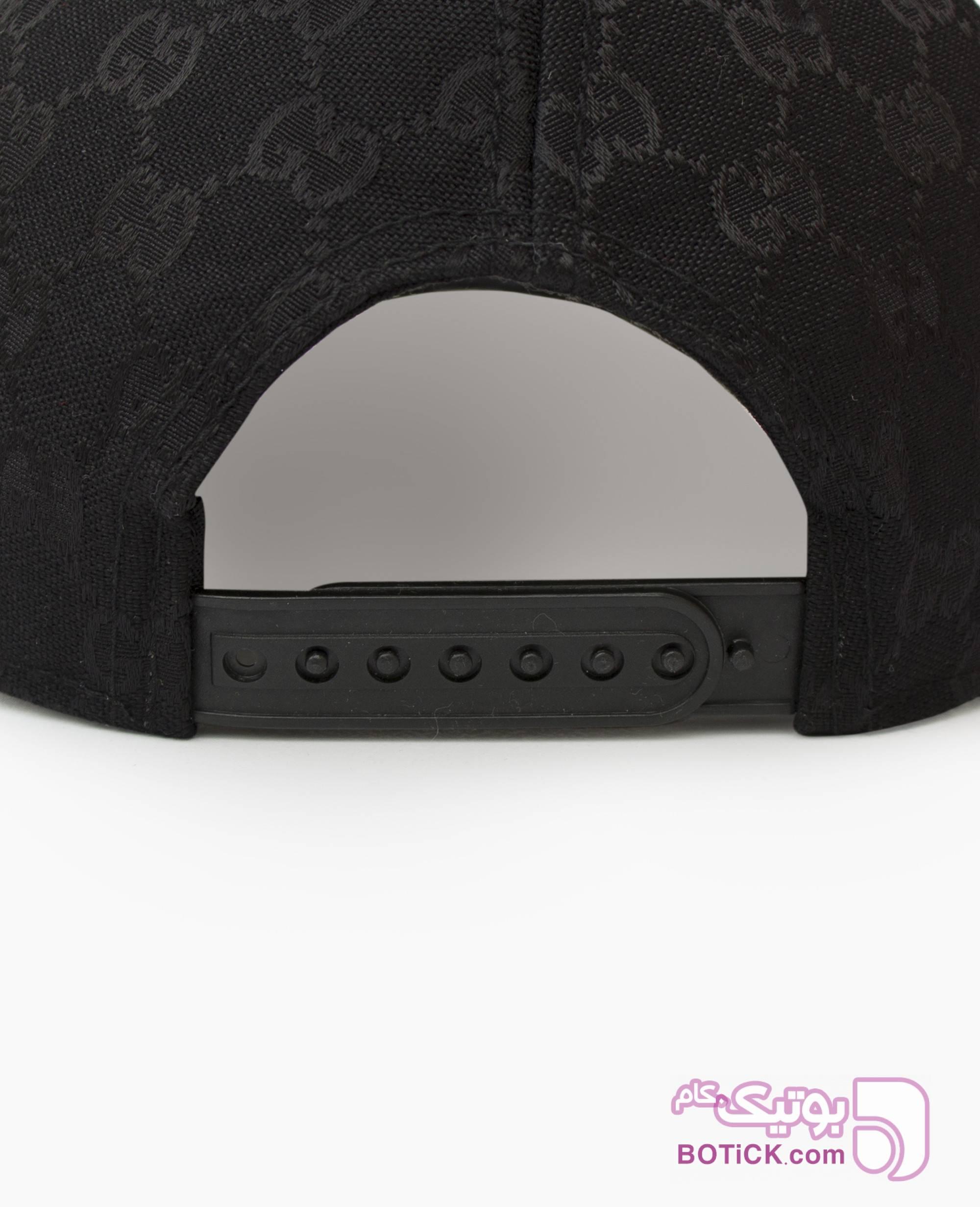 کلاه لبه گرد Gucci کد 7797 مشکی کلاه و اسکارف