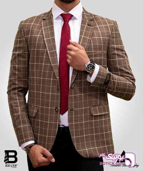 کت تک مردانه قهوه ای 98 2019