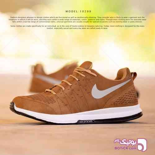 کفش مردانه nike نارنجی 98 2019