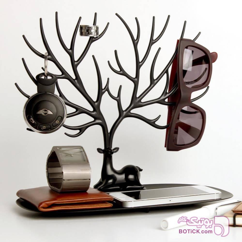 درخت جواهرات طرح شاخ گوزن مشکی ابزار آرایشی