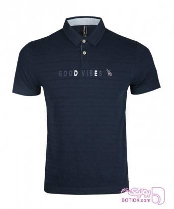 پولوشرت آستین کوتاه مردانه جین وست Jeanswest سورمه ای تی شرتو پولو شرت مردانه