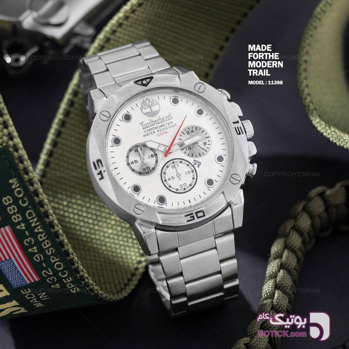 تیمبرلند , برای جذابیت طراحی شده نقره ای ساعت