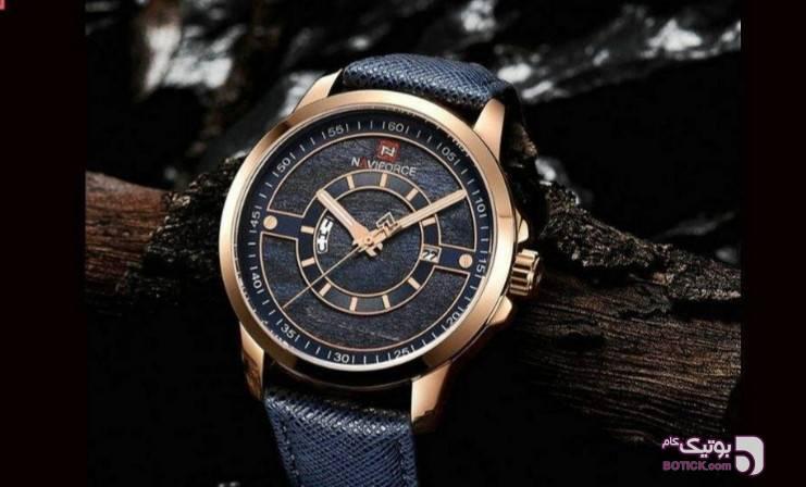 ساعت مچی عقربه ای ناوی فورس مدلNF9151 سورمه ای ساعت