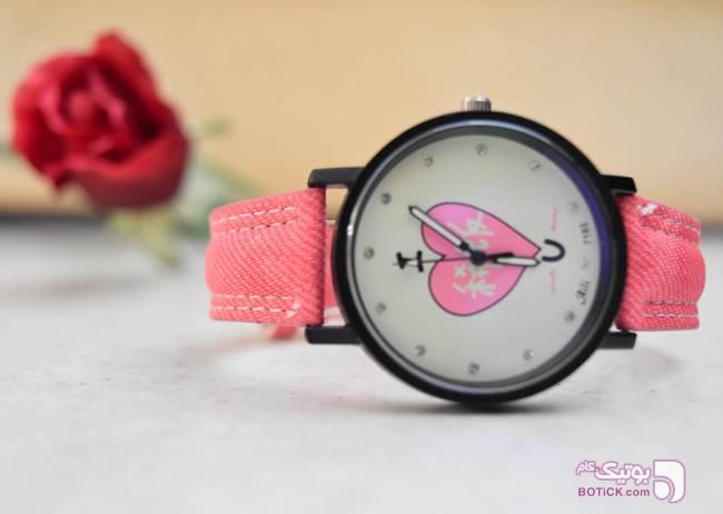 ساعت مچی فانتزی Aili مدل 7182 صورتی ساعت