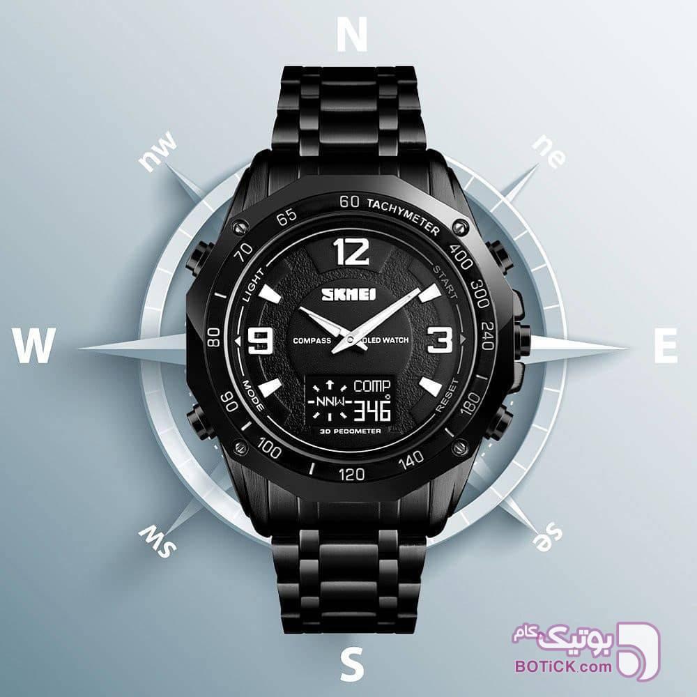ساعت مچی مردانه SKMEI مشکی ساعت