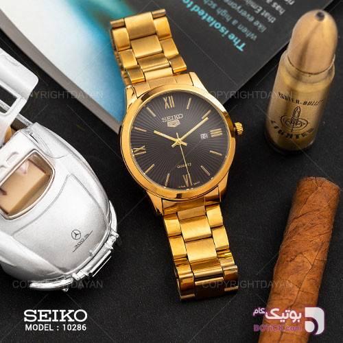 ساعت مچی مردانه Seiko مدل 10286 طلایی ساعت