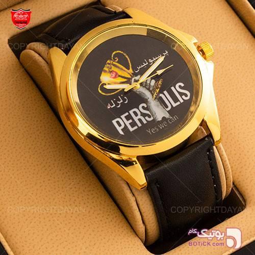 ساعت مچی پرسپولیس مدل W6001 مشکی ساعت
