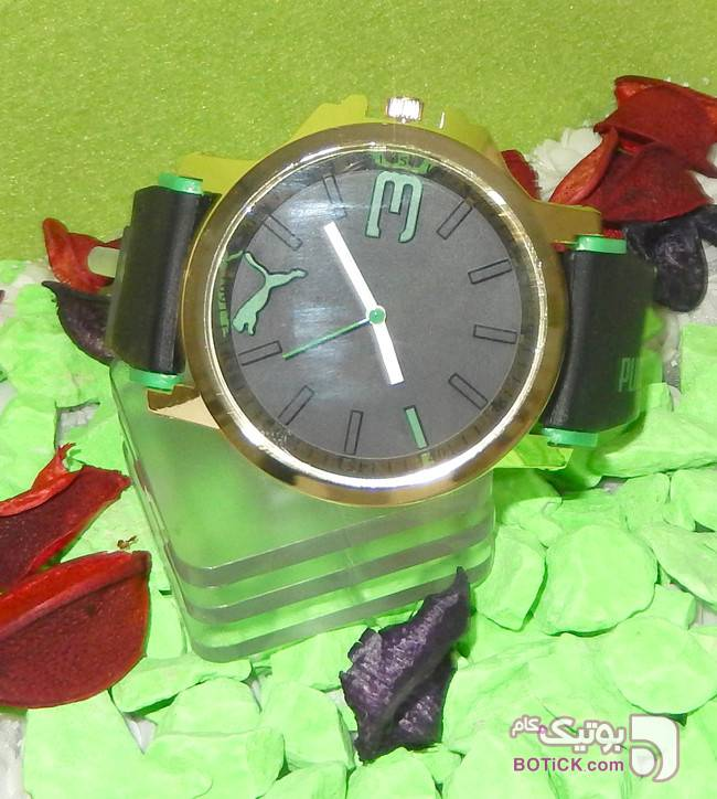 ساعت مچی پوما اسپرت سبز مدل9630 سبز ساعت
