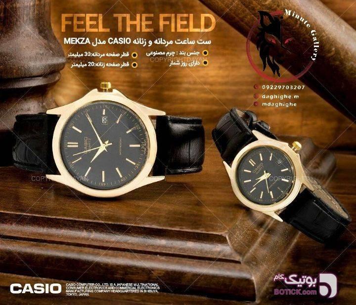 ساعت مچی Casio مشکی ساعت