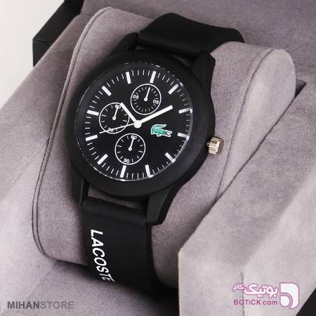 ساعت مچی Lacoste مدل Papillon-کد91245 مشکی ساعت