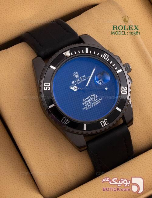 ساعت مچی Rolex مدل 10381 آبی ساعت