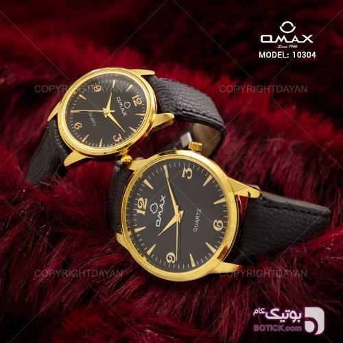 ست ساعت مچی Omax مدل 10304 سورمه ای ساعت