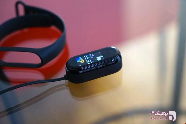 مچ بند هوشمند سلامتی M4 مشکی ساعت