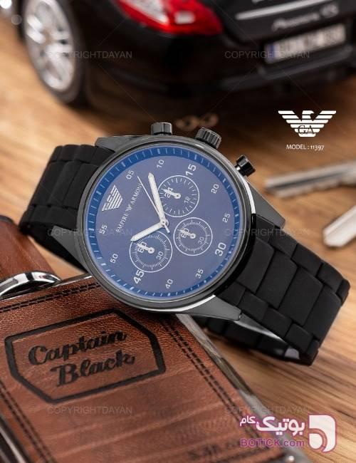 ساعت مچی Emporio Armani مدل 11397  مشکی ساعت