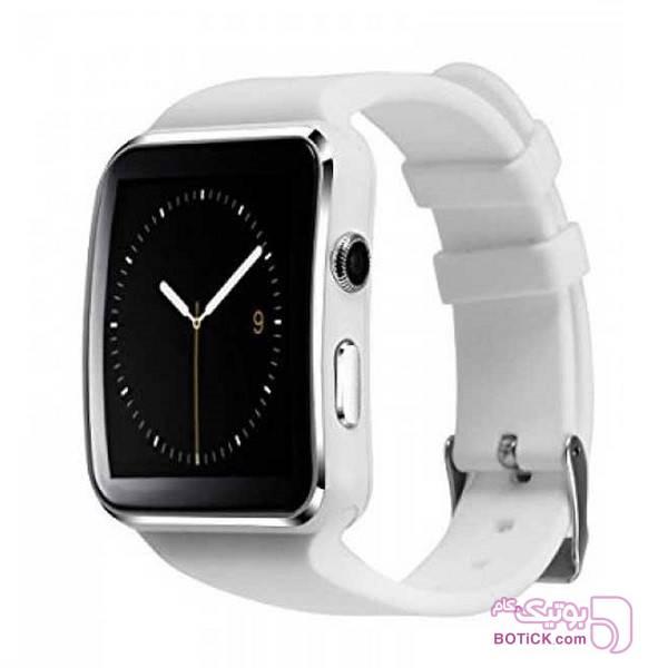ساعت هوشمند طرح اپل واچ  X6 مشکی ساعت