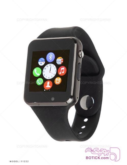 ساعت هوشمند G-tab مدل 11222  مشکی ساعت