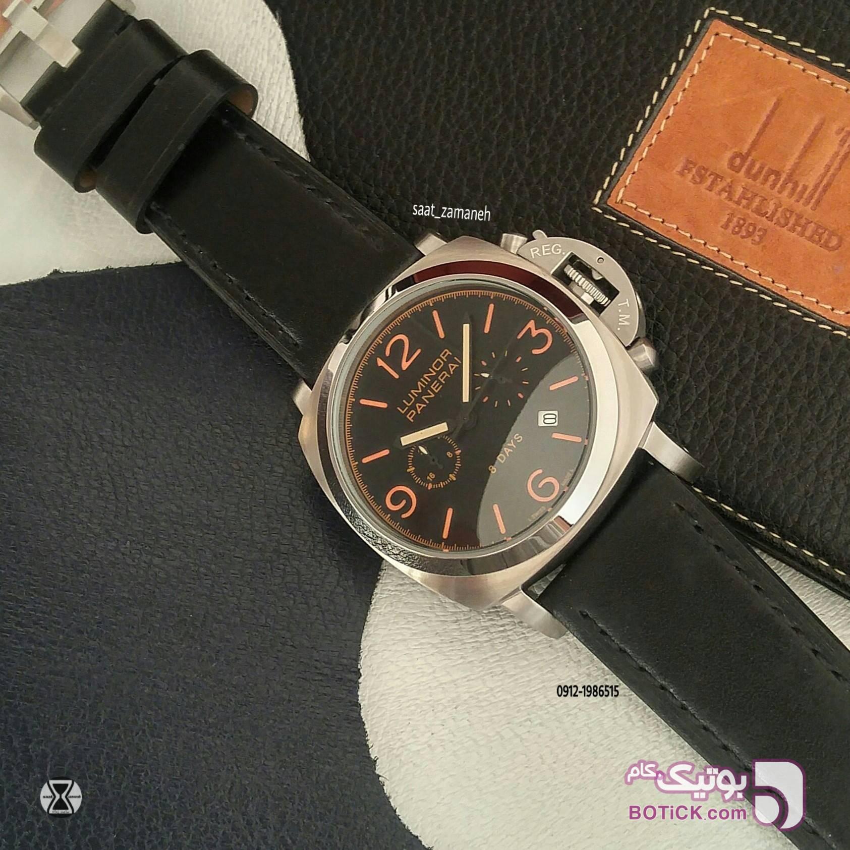 LUMINOR PANERI مشکی ساعت