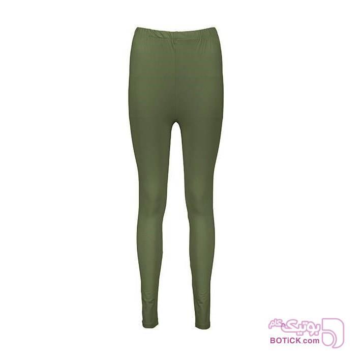 شلوار ویسکوز مدل 4022 سبز لباس راحتی زنانه