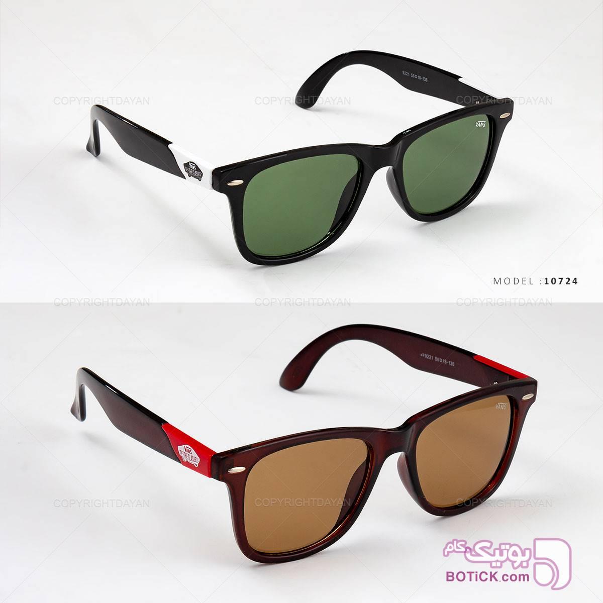 عینک آفتابی Vans مدل 10724  مشکی عینک آفتابی