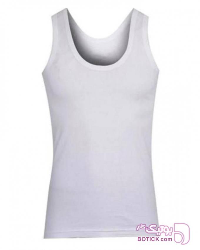 زیپوش مردانه نانو سایز L مدل 28 سفید لباس زیر مردانه