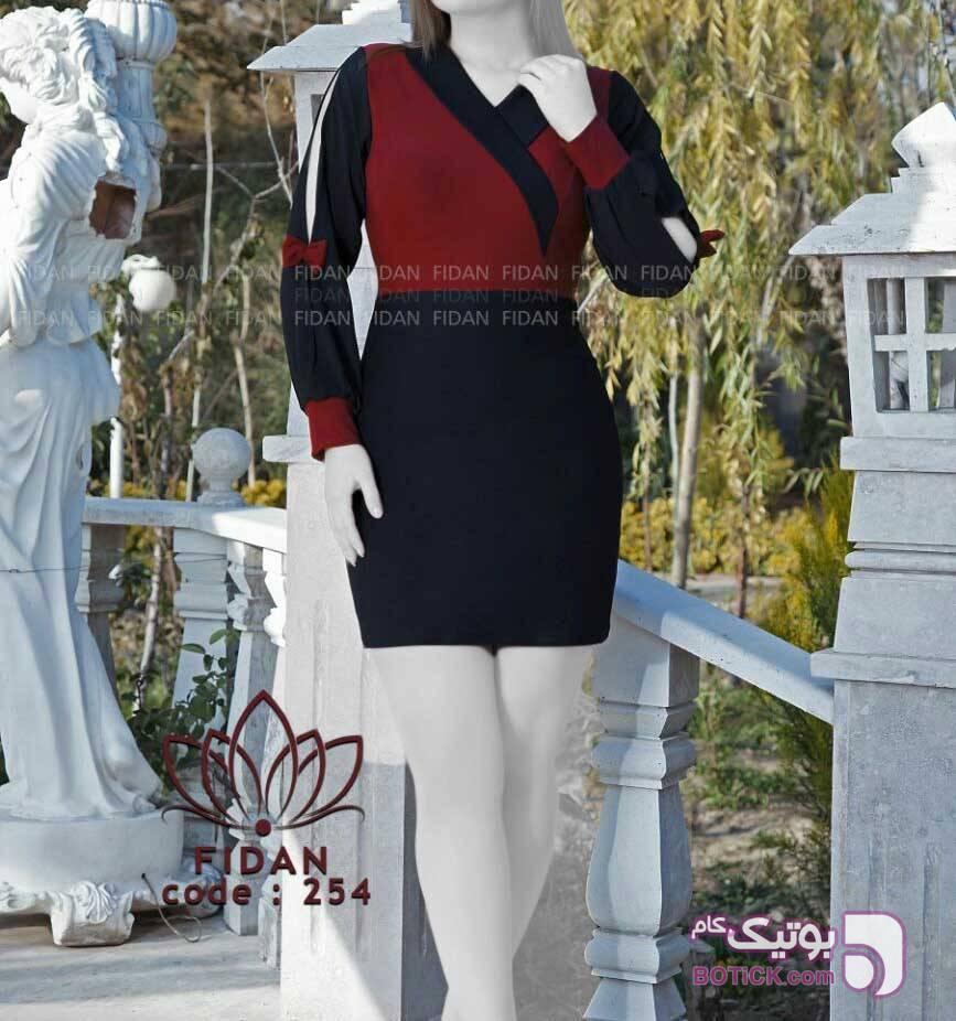 مدل نکیسا خاویار الگانس کد 254 قرمز لباس  مجلسی
