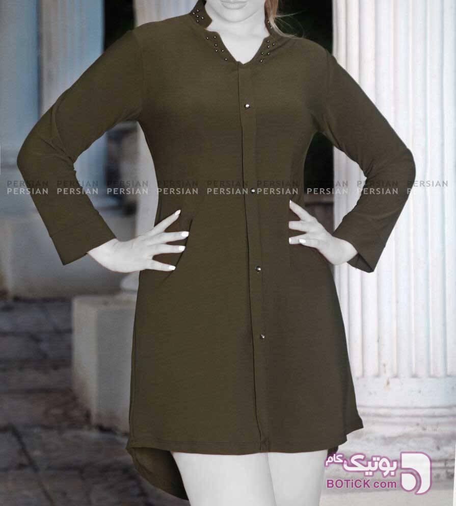 کرپ کش اعلا مروارید پانچ کد305 سبز لباس  مجلسی
