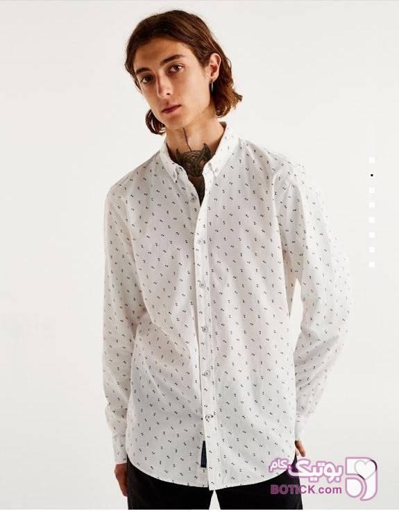 پیراهن مارک پل اندبیر  سفید پيراهن مردانه