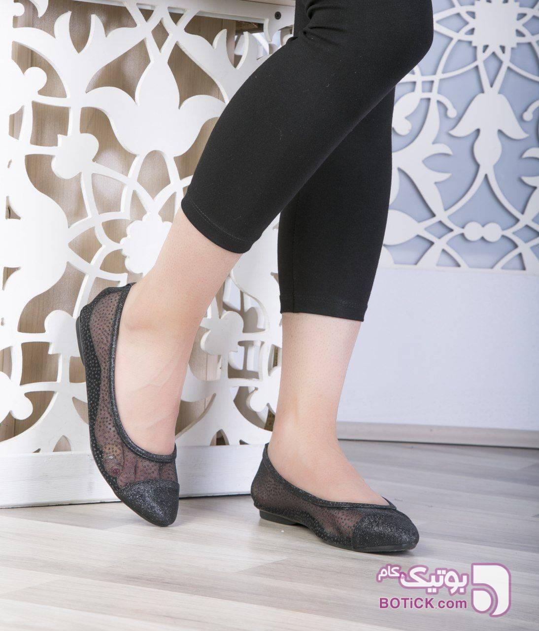 کالج کد ۵۶۵ قالب استاندارد  مشکی كفش زنانه
