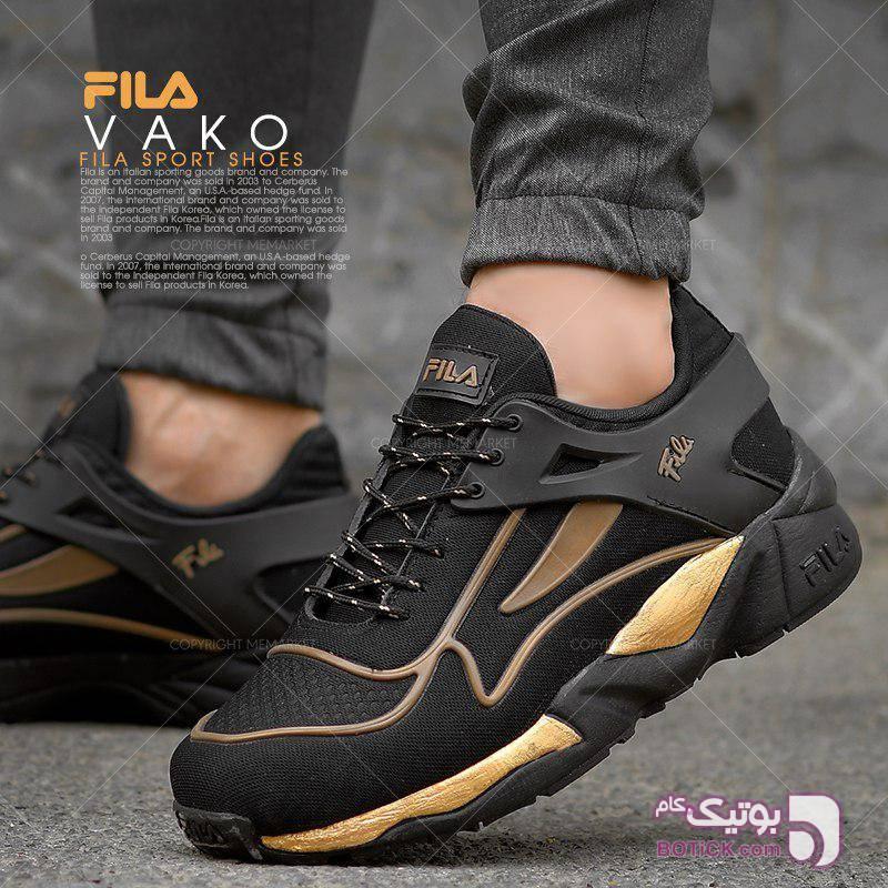 كفش مردانه FILA مدل VAKO مشکی كتانی مردانه