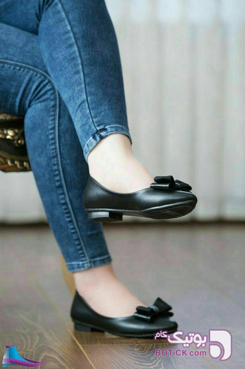 کفش بسیار جذاب و راحتی مشکی كفش زنانه