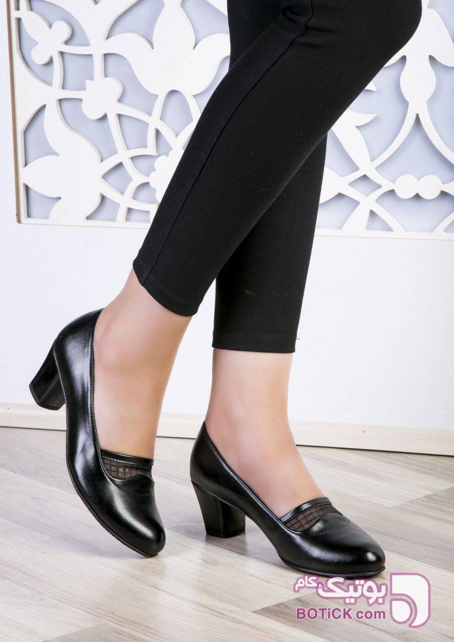 کفش بسیار شیک و لاکچریر مشکی كفش زنانه