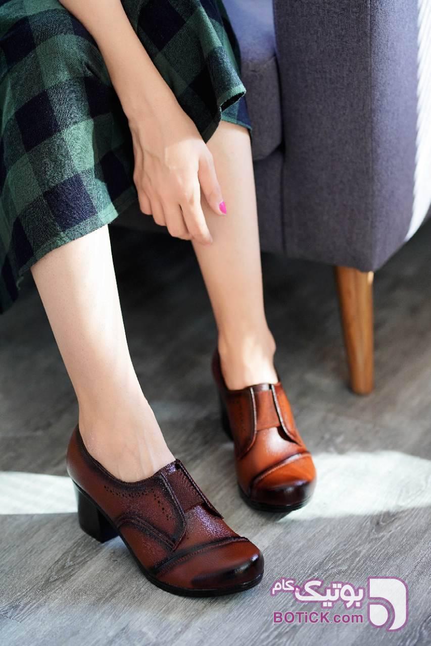 کفش زنانه بسیار شیک و لاکچری مشکی كفش زنانه