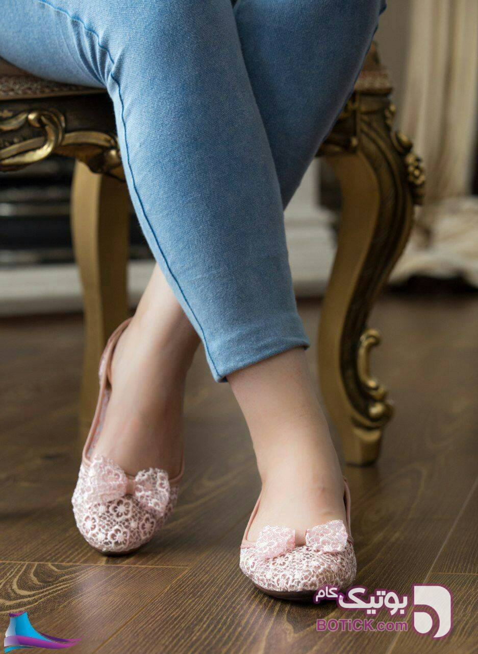 کفش گیپور بسیار سبک و راحت سبز كفش زنانه