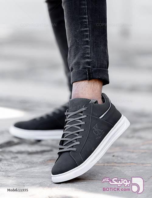 کفش مردونه Calvin Klein مدل 11335 نقره ای كفش مردانه