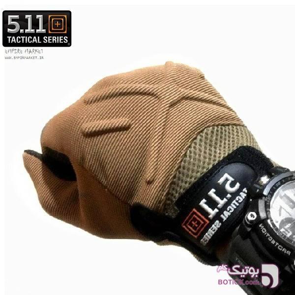 دستکش تاکتیکال 5.11 (مولتی گارد) سبز کلاه بافت و شال گردن و دستکش