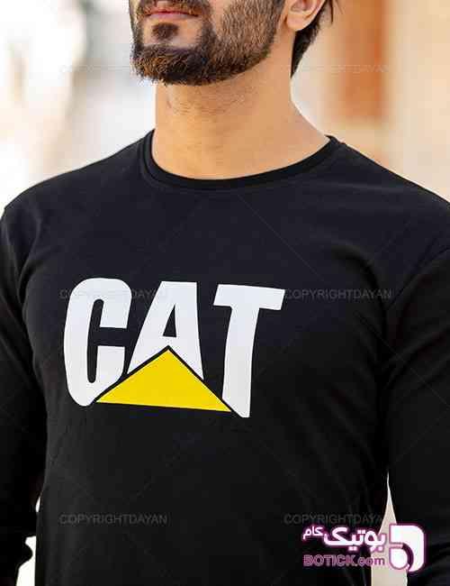 ست بلوز و شلوار مردانه Cat مدل 10859 مشکی 98 2019
